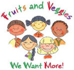Fruits and Veggies Poster