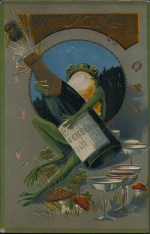 The New Year's Frog