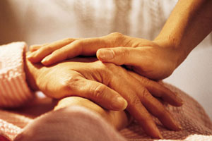 Caregiver's Hands