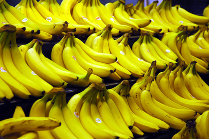 Bananas are a great source of Vitamin B6