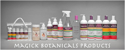 Magick Botanicals products