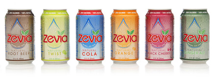 Zevia products