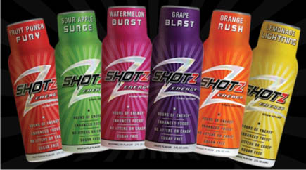 Shotz Energy Drinks